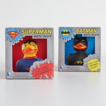 DC Comics Rubber Ducks